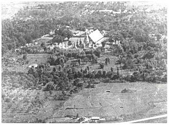Wat Suan Dok - Wat Suan Dok in 1886 photographed from above