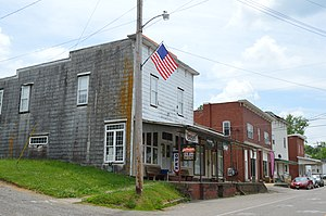 Waterford, Ohio - Commercial buildings on Main Street