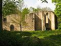 Weischlitz Burgsteinruinen untere Kirche von Süden.jpg