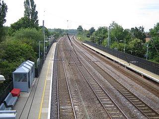 Welham Green railway station