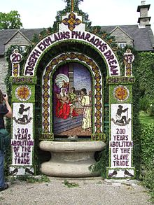Image result for tissington well dressing
