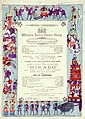 Wellington Amateur Operatic Society -Mikado, or the town of Titipu. Friday 14th December 1888 (being eighth night of season). Bock and Cousins, Printers, Brandon Street. (20878492373).jpg