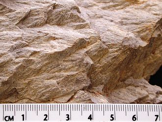 Shatter cone - Image: Wells creek shatter cones 2