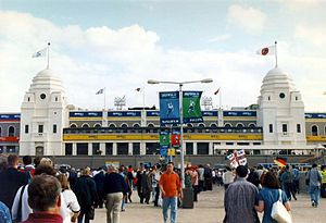 Twin Towers (Wembley) - The Twin Towers at Euro 1996