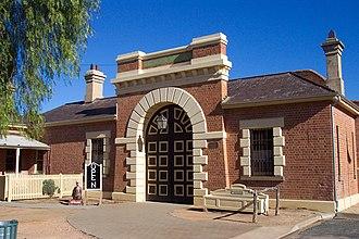 Wentworth Gaol - Image: Wentworth Gaol Main Gate