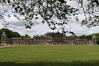 Wentworth Woodhouse country house in the village of Wentworth, South Yorkshire, England