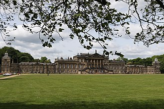 Wentworth Woodhouse - East front of Wentworth Woodhouse
