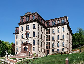 West Hall (Rensselaer Polytechnic Institute) - After the 2004-2008 exterior renovation