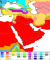 West Asia Köppen Map.png