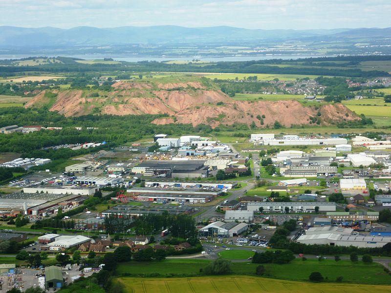 West Lothian shale bing, Scotland.JPG