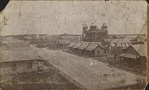 West Tampa - One of two oldest known photos of West Tampa, circa. 1895