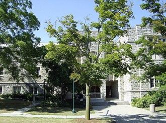 University of Western Ontario Faculty of Law - Exterior of Western Law School