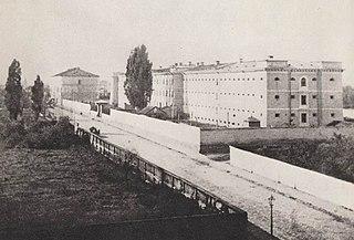 Prison built in 1835 in Warsaw, Poland