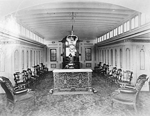 Wide West - Image: Wide West steamboat interior 01
