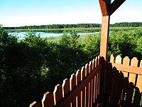 Wieleckie Lake, observation tower.jpg
