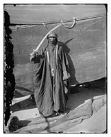 Wife of a Bedouin chief holding sword. LOC matpc.06838.jpg