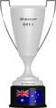 WikiCup Trophy Second Place (2011).png