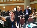 Wikipedians at the Marketplace of Ideas at AAM2012 (1).jpg
