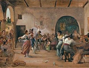 Dance in an Osteria