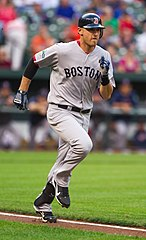 Will Middlebrooks jako zawodnik Boston Red Sox.