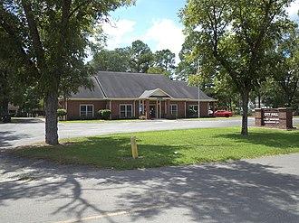 Willacoochee, Georgia - Willacoochee City Hall and Police Department