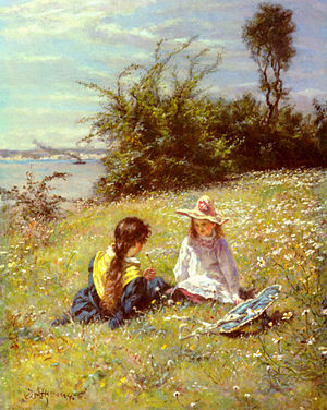 William John Hennessy - The Dandelion Clock by William John Hennessy