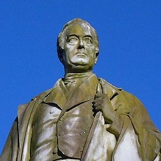 William Rathbone V - his statue in Sefton Park