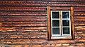 Window at Fågelsjö Gammelgård July 2014.jpg