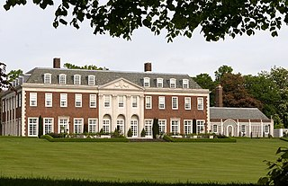 Winfield House mansion and official residence of the United States Ambassador to the United Kingdom, located in London