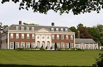 Winfield House - The garden front in 2009