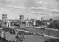 Wjazd na most Poniatowskiego przed 1939.jpg