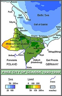 Free City of Danzig/Gdańsk, 1920-1939