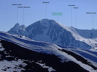 Volovec (Tatra) - Image: Wołowiec a 10