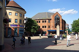 Woking Town Square before its development