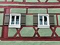 Wolframs-Eschenbach, Hauptstraße 11, Fachwerkfenster.jpg