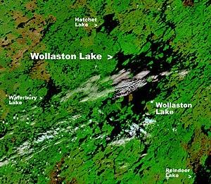Hatchet Lake (Saskatchewan) - Hatchet Lake is north of Wollaston Lake