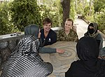 Women from 203rd Zone Afghan Border Police and TAAC-S attend shura at Kandahar Airfield, Afghanistan 150809-N-SQ656-356.jpg