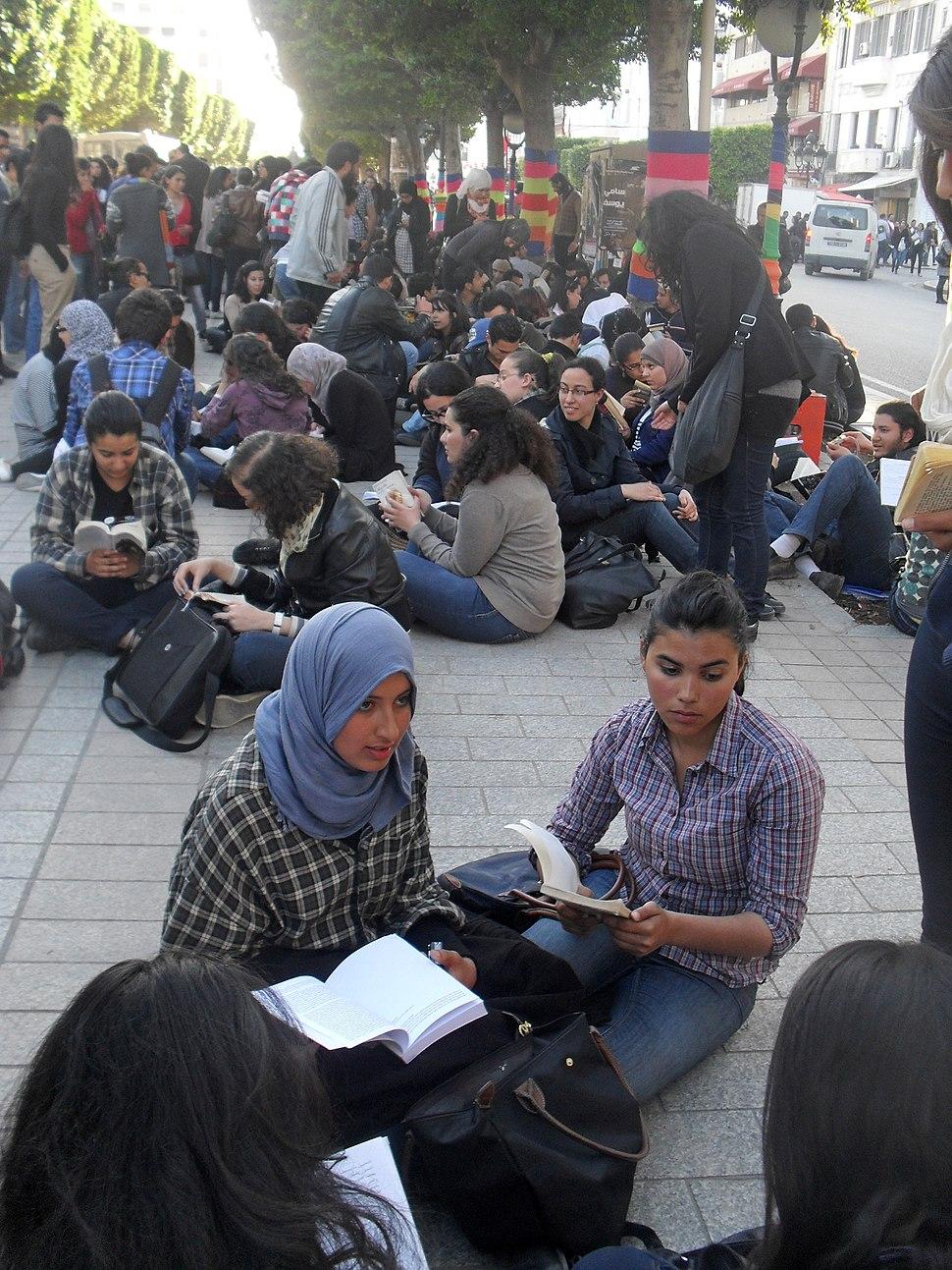 World Book Day in Tunisia 2012