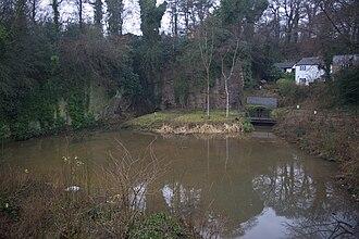Worsley Navigable Levels - Worsley Delph, the entrance to the Duke of Bridgewater's underground mines