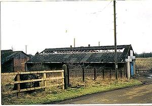 Oxfordshire Ironstone Railway - Image: Wroxton iron mine 1