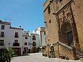 Xàbia, plaça de l'església.JPG