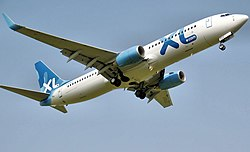 Boeing 737-800 der XL Airways UK