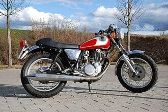 Yamaha SR400 & SR500 - Modified 1985 Yamaha SR500 café racer