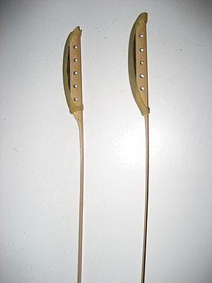 Yangqin - A pair of yangqin hammers.