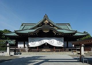 Shinto shrine in Tokyo, Japan