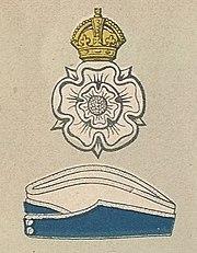 Yorkshire Dragoons badge and service cap.jpg