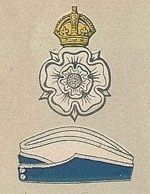Yorkshire Dragoons badge and service cap.jpg