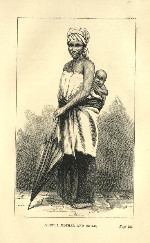 Yoruba Mother and Child