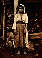 Young Kurd woman at Gotni, Mus plain 1893.jpg