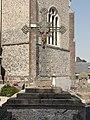 Ypreville-Biville (Seine-Mar.) croix de cimetière.jpg